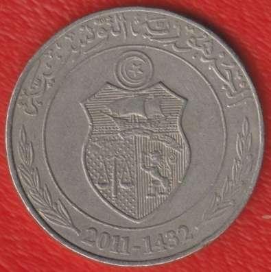 Тунис 1 динар 2011 г. в Орле Фото 1