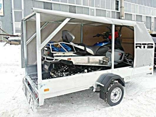 Перевозка снегоходов, квадроциклов, аренда прицепа в Уфе