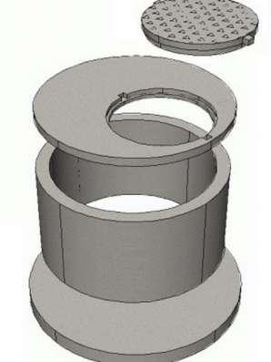 ЖбИ Кольцо Стеновое 700, 1500, 2000 в Нижнем Тагиле Фото 2