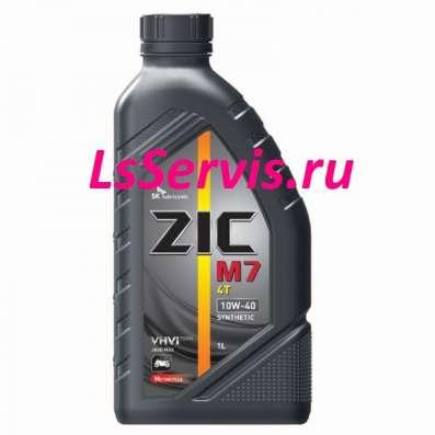 Масло для квадроциклов и мотоциклов ZIC M7 4T 10W40 синт 1Л