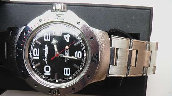 Часы мужские Восток Амфибия новые в Саратове Фото 4