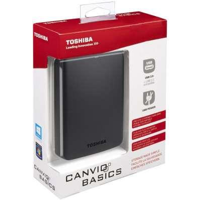 Внешний жёсткий диск Toshiba 500GB