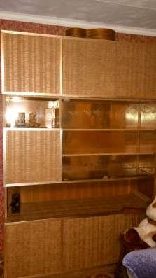 Книжный шкаф, пенал, деревянная полка