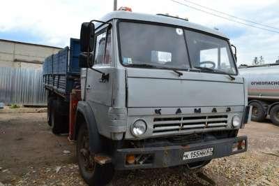 кран-манипулятор КАМАЗ 53212