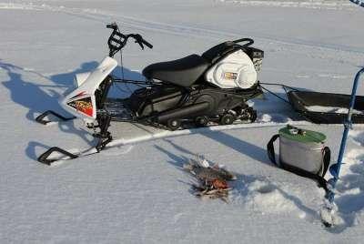 снегоход русская механика в Костроме Фото 3