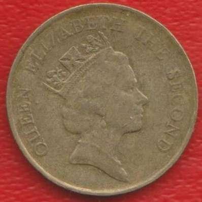 Гонконг 10 центов 1986 г в Орле Фото 1