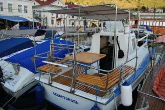Продам прогулочный катер 8,5 м 12+1 чел.Приписан в Балаклаве в г. Севастополь Фото 5
