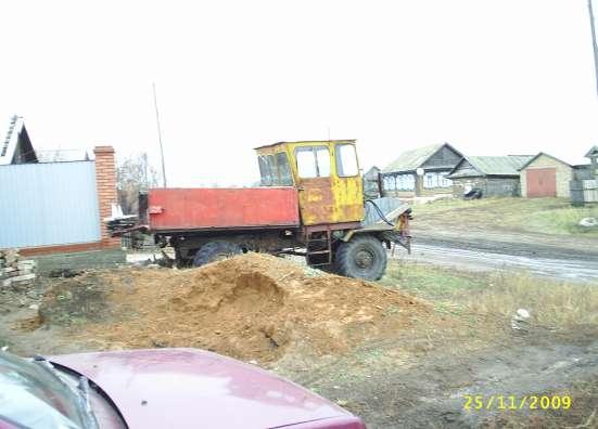 Трактор 4х4, мотор МТЗ-80