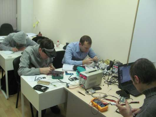 Ремонт мобильных телефонов: Обучение в Москве Фото 3