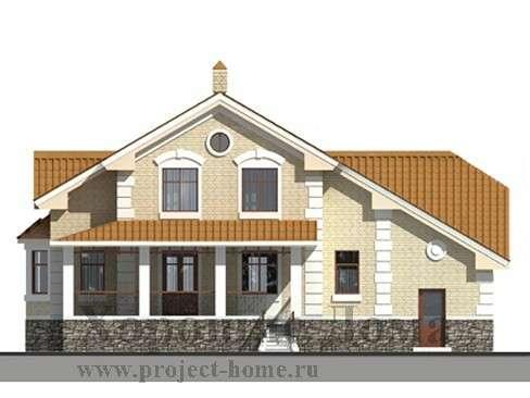 Строительство дома из газобетона 265.8 кв. м