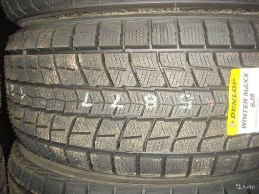 Новые японские Dunlop 265/70 R16 Winter Maxx SJ8 в Москве Фото 2