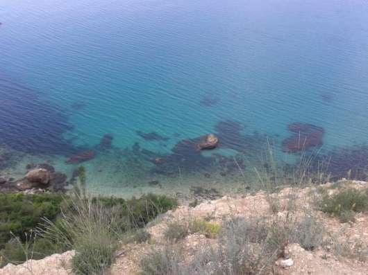 участок 4 сот с видом на море м фиолент