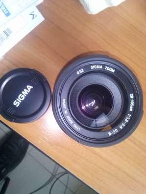 Продам объектив Canon Sigma AF 28-105mm F3.8-5.6 UC-III в Тольятти Фото 1