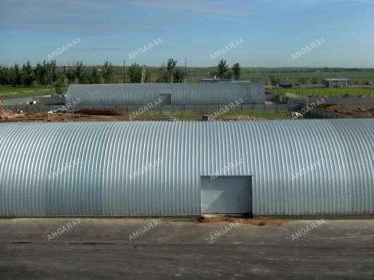 Продажа арочных бескаркасных ангаров в г. Шымкент Фото 1