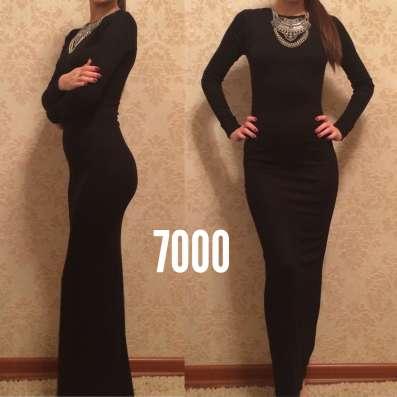 Платье облигающее