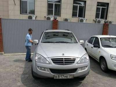 внедорожник SsangYong Kyron, цена 600 000 руб.,в Хабаровске Фото 1
