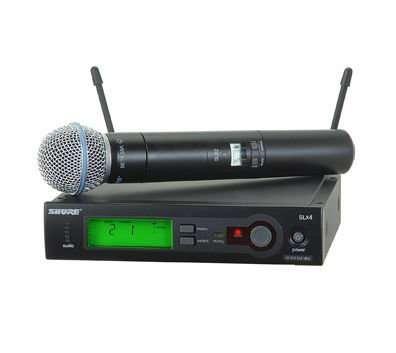 Микрофон SHURE SLX24/BETA58 радиосистема
