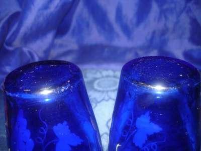 пара старинных стаканов с ручной роспись в Санкт-Петербурге Фото 1