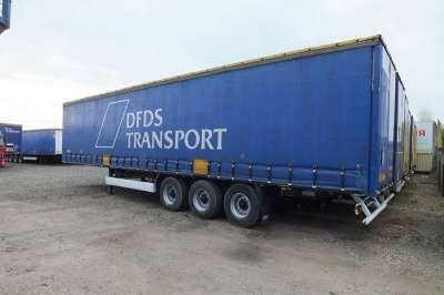 прицеп для грузовика KRONA штора