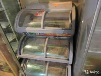 торговое оборудование Морозильный ларь 3 уровня