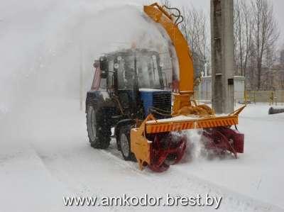 Снегоочиститель Амкодор ОФР-200.1 в г. Минск Фото 2