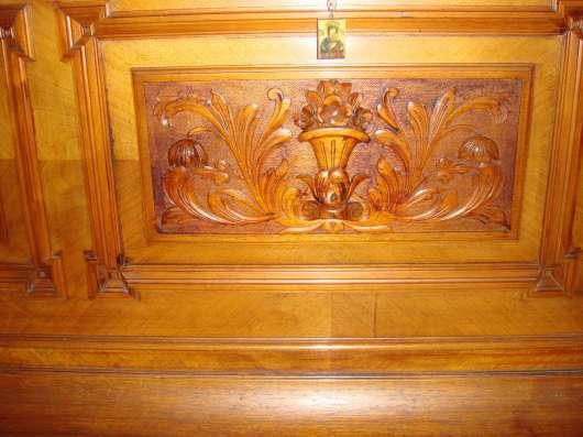 Старинное немецкое пианино(антиквар),коричн. цвета с инкруст в Перми Фото 1