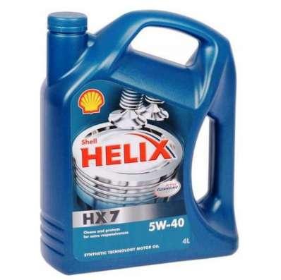 Масло Shell Helix Ultra 5W40 синтетическое 4литра