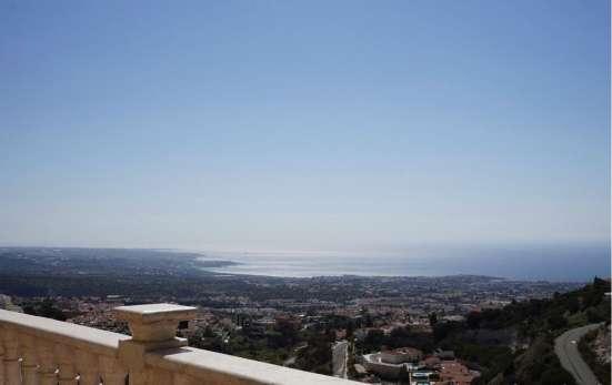 Вилла с видом на море в живописном пригороде Пафоса-Кипра