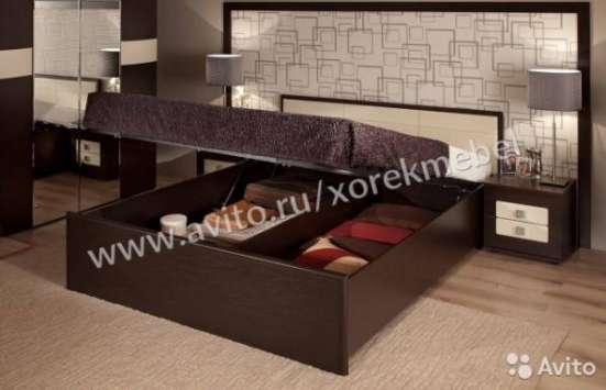 """Кровать """"Сонет"""" 140х200 с подъемным механизм"""