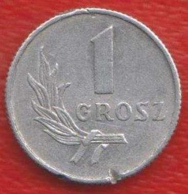 Польша 1 грош 1949 г