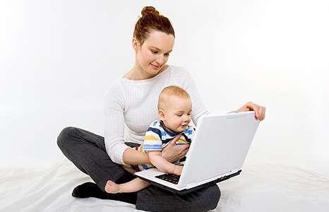 Работа для мамочек в декрете
