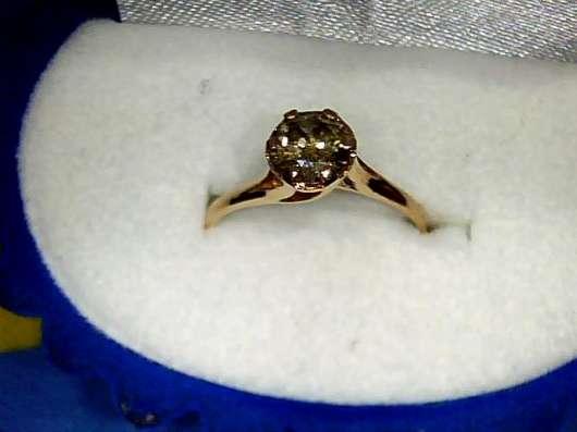 Кольцо золото 585 бриллиант 0.66 карат в Екатеринбурге Фото 4