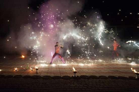 Огненное шоу Барнаул творческая группа АльтШоу фаер шоу Фото 1