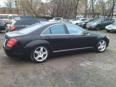 автомобиль Mercedes S 500, цена 1 100 000 руб.,в г. Самара Фото 2