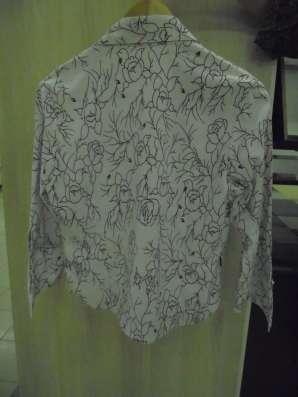 Блузка (рубашка) стрейч, на молнии, р.48-50 в Москве Фото 2