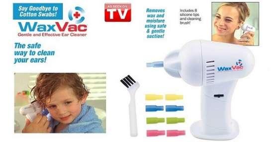 Продам аппарат для чистки ушей WaxVac в упакованном виде