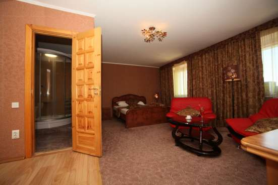 Гостиничный номер с финской и турецкой саунами