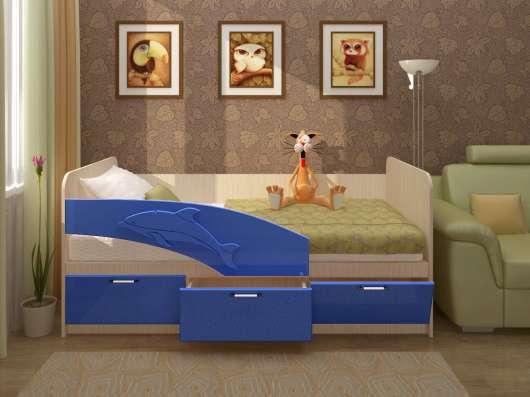 Детская кровать Дельфин 1,6 м в Екатеринбурге Фото 1