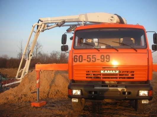 Услуги автобетононасоса в Великом Новгороде Фото 1