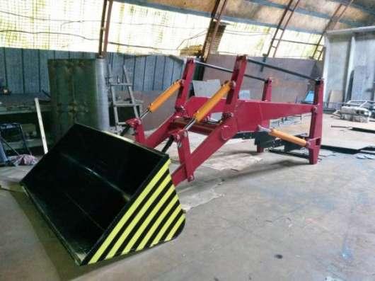КУН фронтальный погрузчик для тракторов МТЗ, ЮМЗ, Т-40