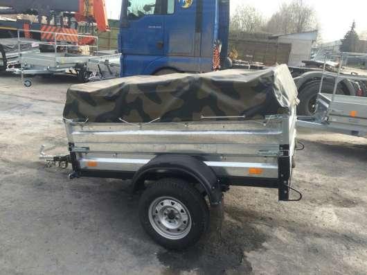 Легковой прицеп автомобильный КМЗ 20A Комуфляж в Москве Фото 4