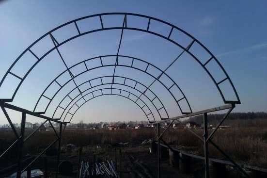 Каркас навеса для автомобиля в Костроме Фото 1