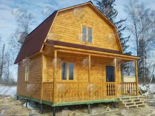 Строим дачные Дома и Бани из бруса.