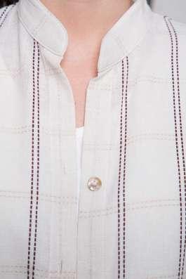 Туника женская 100% лен вышивка марки LOOK в Владивостоке Фото 2