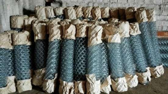Сетка рабица от производителя оцинкованная