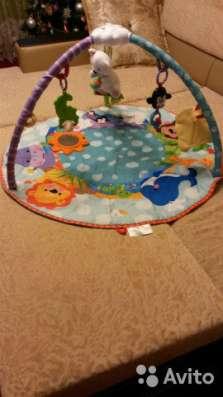 детский развивающий коврик с игрушками в Подольске Фото 1
