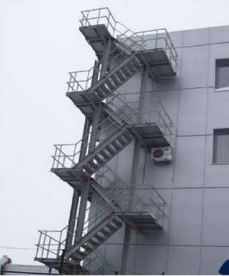 Металлические лестницы в Ульяновске Фото 3