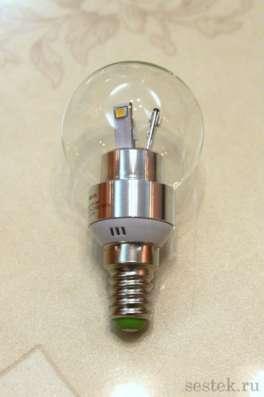 Прозрачные интерьерные светодиодные ламп  Clear