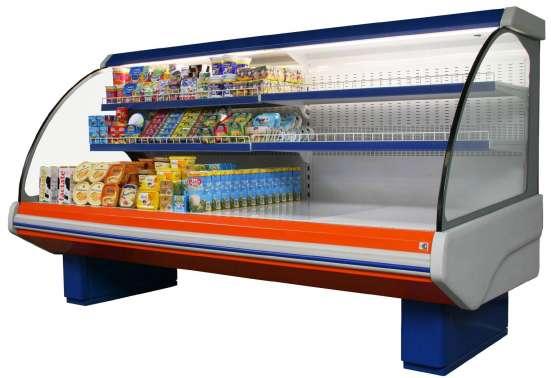 Витрины, шкафы, лари холодильные для магазинов в Симферополе в г. Симферополь Фото 2