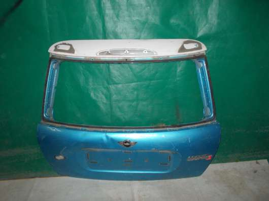 Mini Cooper S Крышка багажника б/у Оригинал